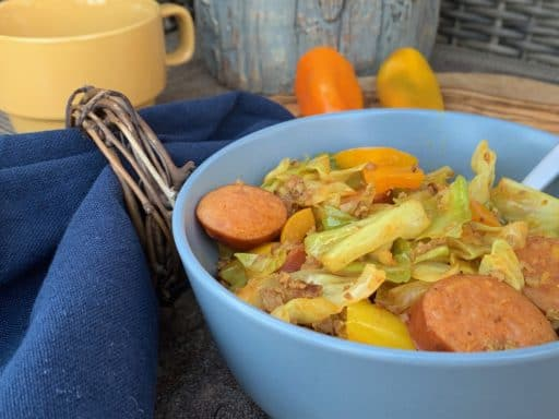 Keto Cabbage & Keilbasa