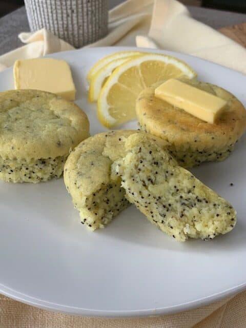Keto Lemon Poppy Seed Muffins