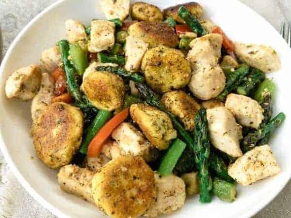 Garlic Gnocchi Chicken