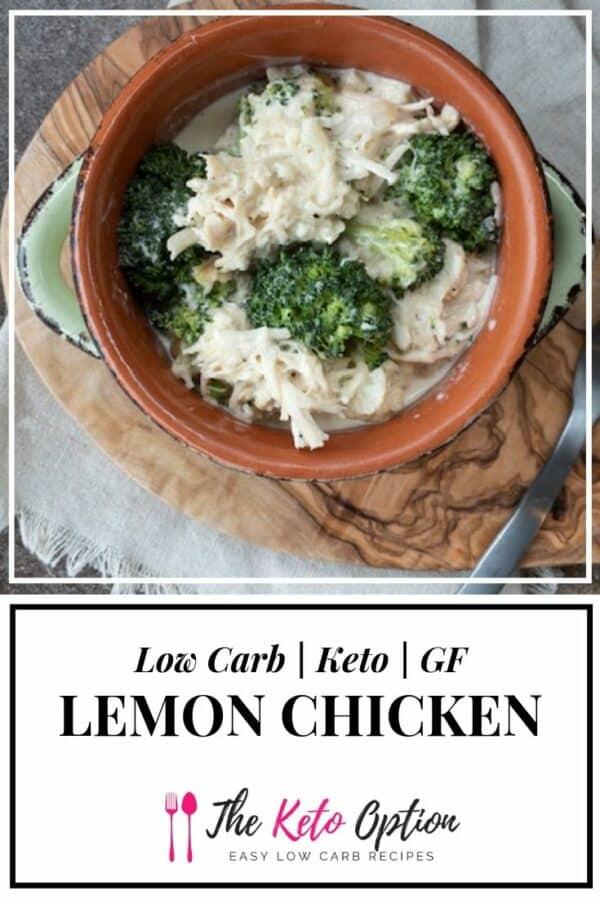 Keto Lemon Chicken
