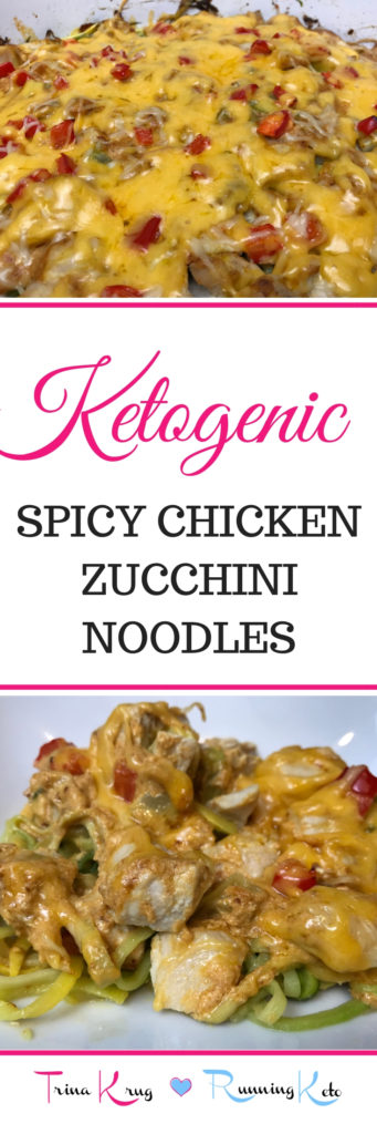 spicy chicken zucchini noodles
