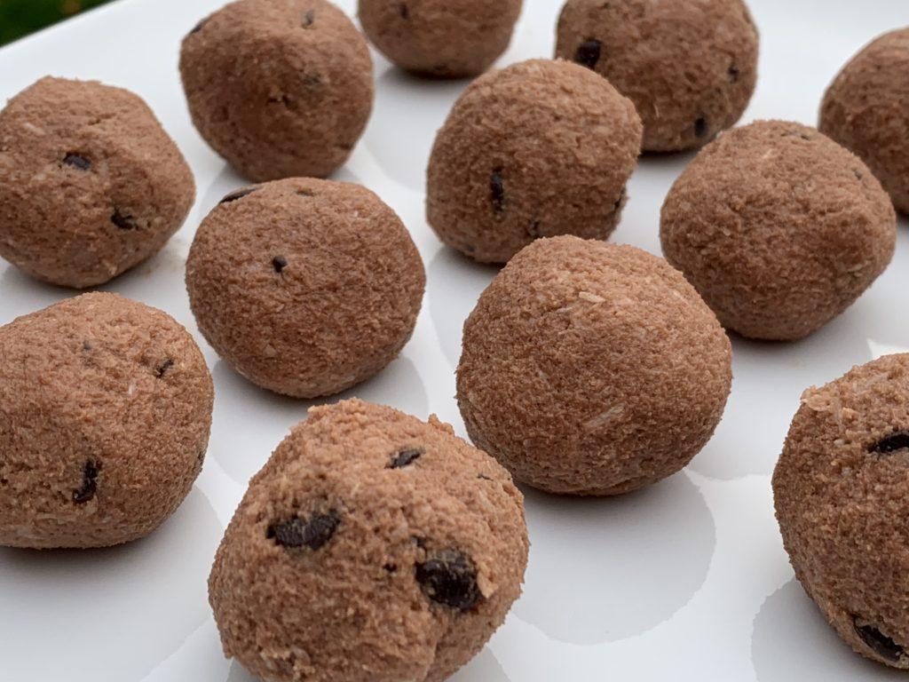 Keto Chocolate Coconut Cookie Dough