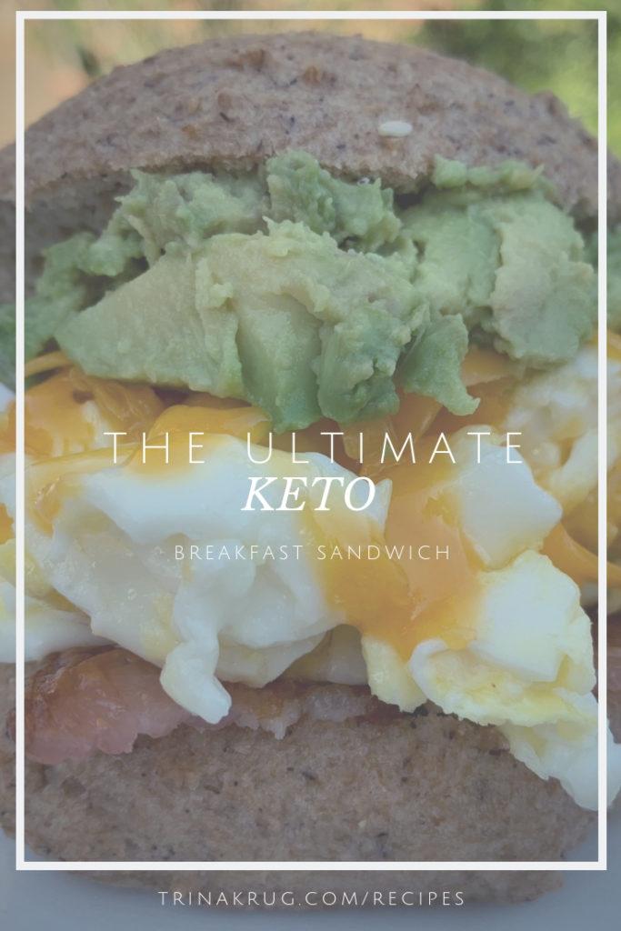 ultimate keto breakfast sandwich