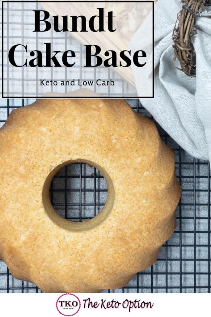 Bundt Cake Base