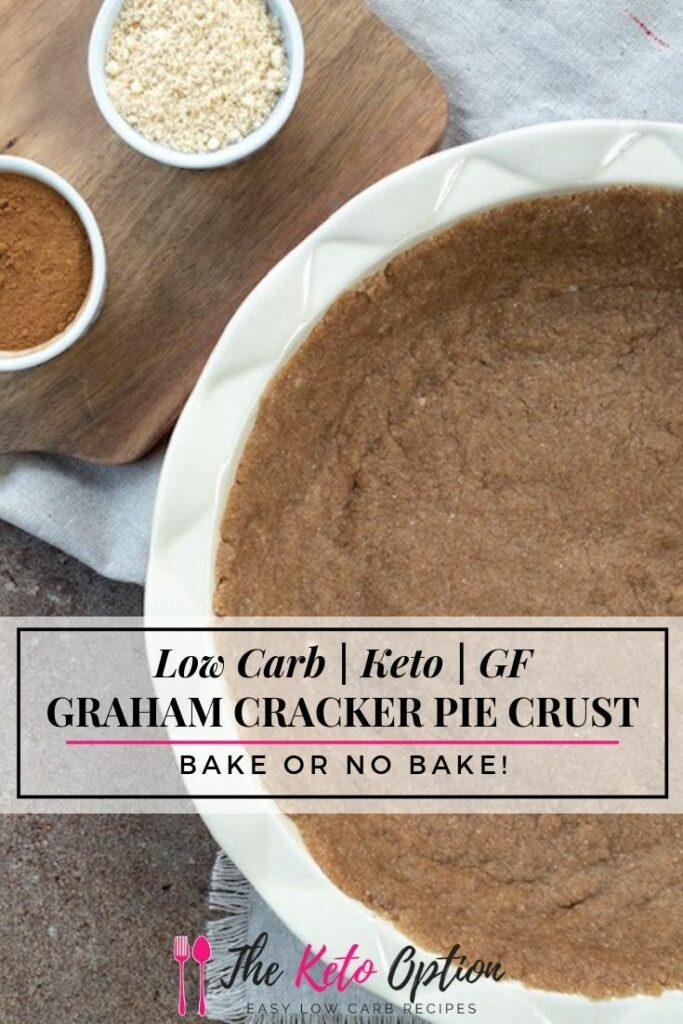 Keto Graham Cracker Pie