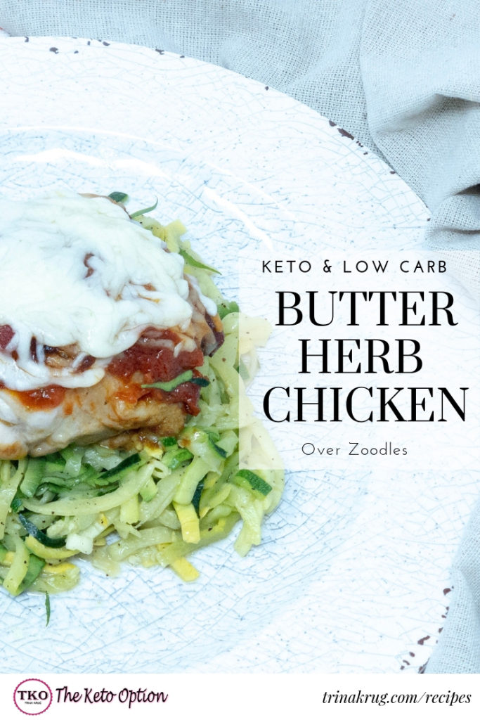 butter herb chicken
