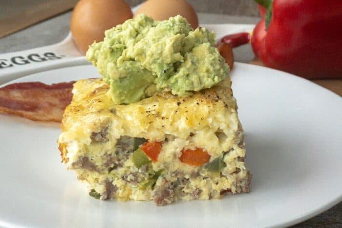 Keto Sausage Breakfast Bake