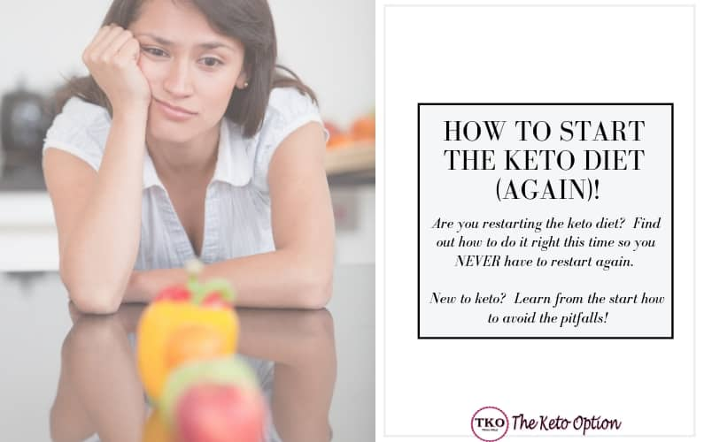 How to start the keto diet again
