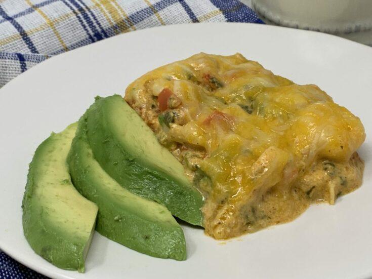 Keto Enchilada Casserole