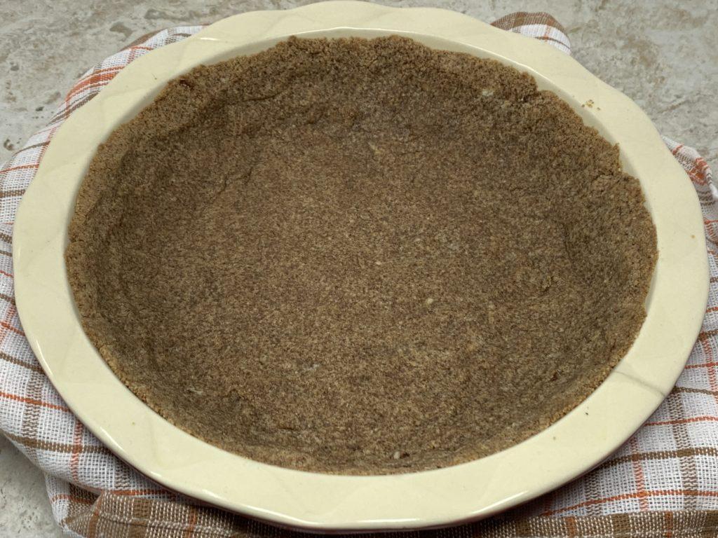 Keto Dairy-free Graham Cracker Pie Crust