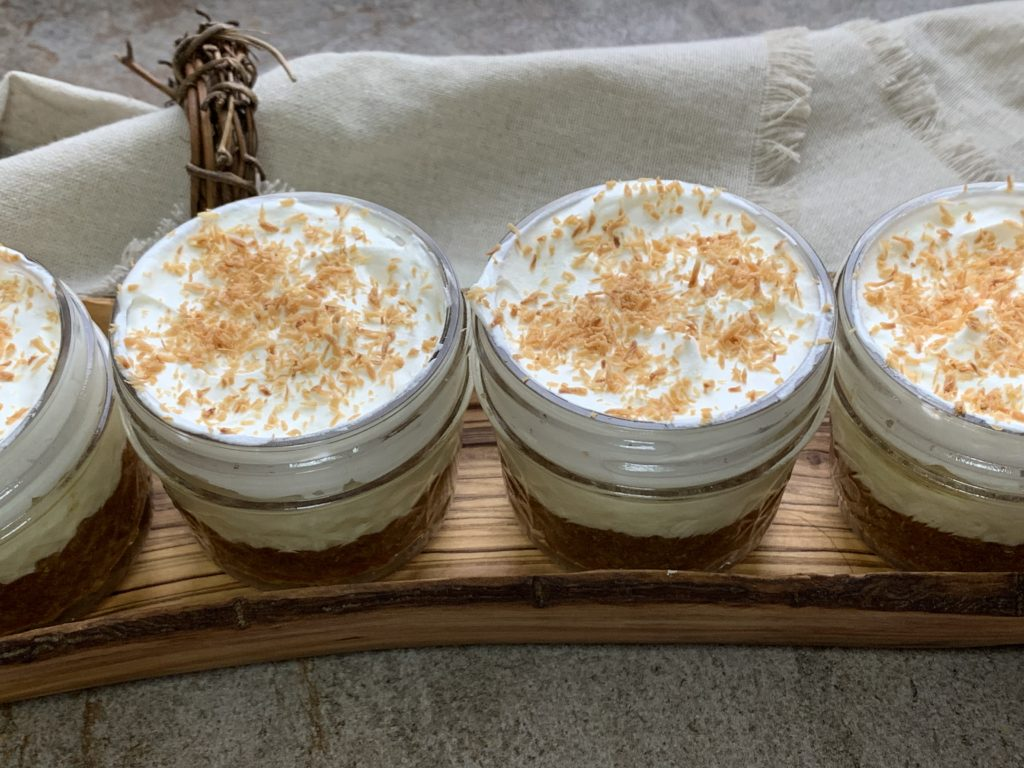 Keto No Bake Coconut Cream Pie