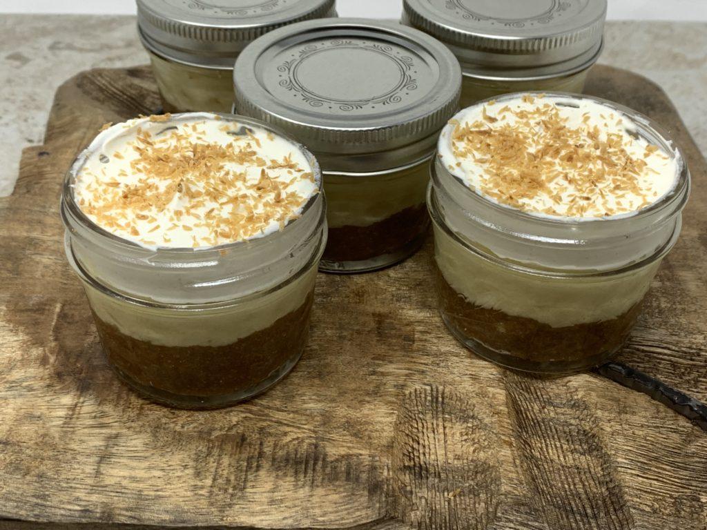 Keto Coconut Cream Pie Cups