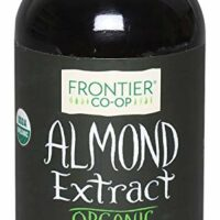 Frontier Almond Extract Certified Organic, 4-Ounce Bottle