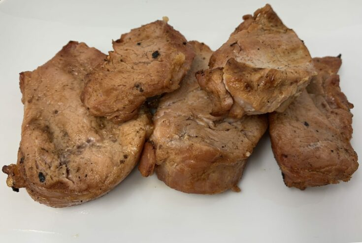 Asian Inspired Keto Pork Medallions