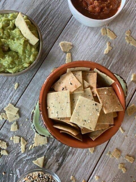 Dairy Free Crispy Keto Chips