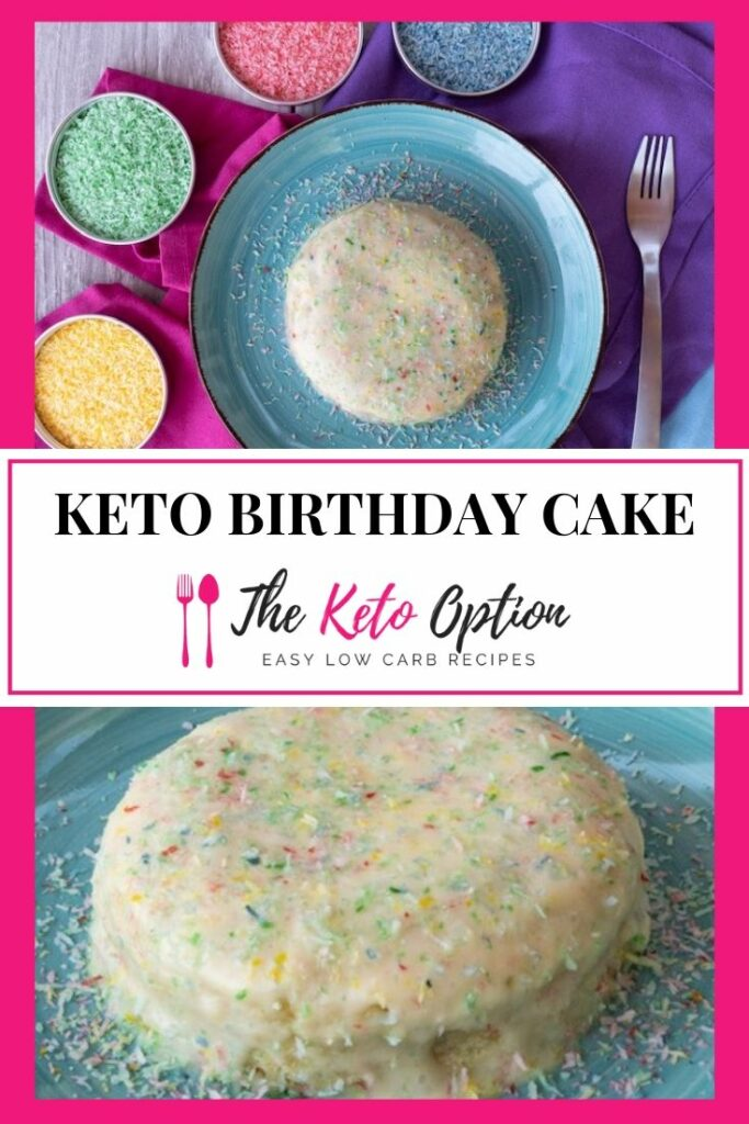 Keto Birthday Cake