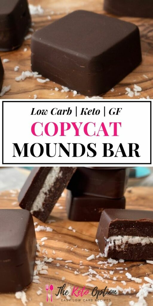 Keto Copycat Mounds Bar