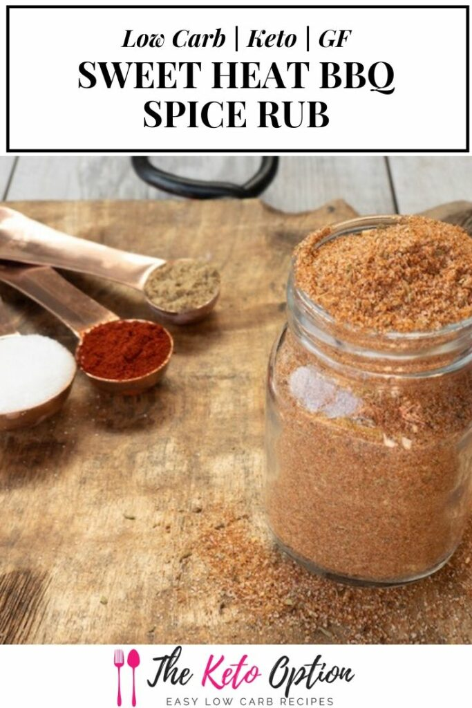 Keto Sweet Heat BBQ Spice Rub