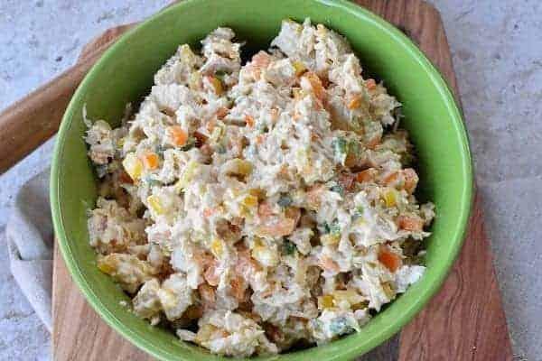 Keto Summer Chicken Salad