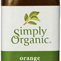 Simply Organic Orange Flavor Certified Organic, 2-Ounce Container