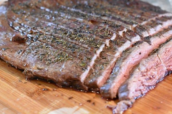 Broiled Flank Steak