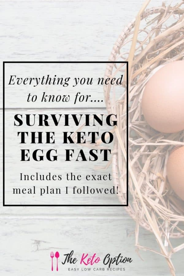 Surviving The Keto Egg Fast