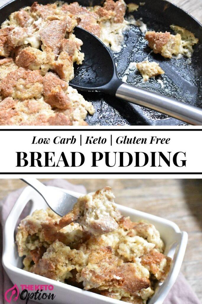 Keto Bread Pudding