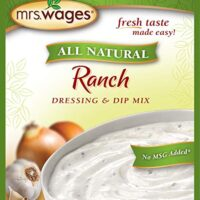 Mrs. Wages All Natural Dressing & Dip Mix, Ranch, 0.78 Ounce (Pack of 12)