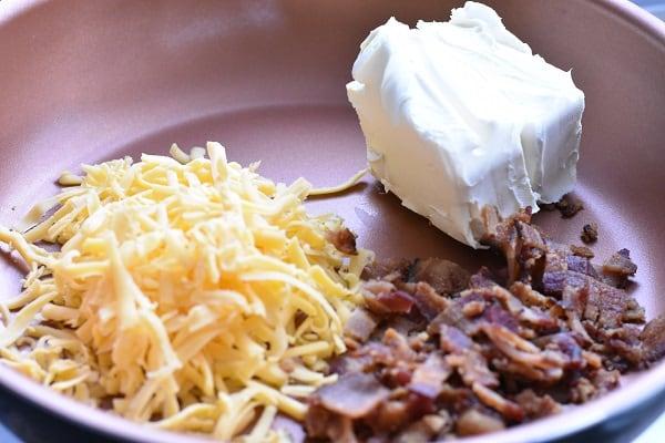 Keto Bacon Cheese Dip