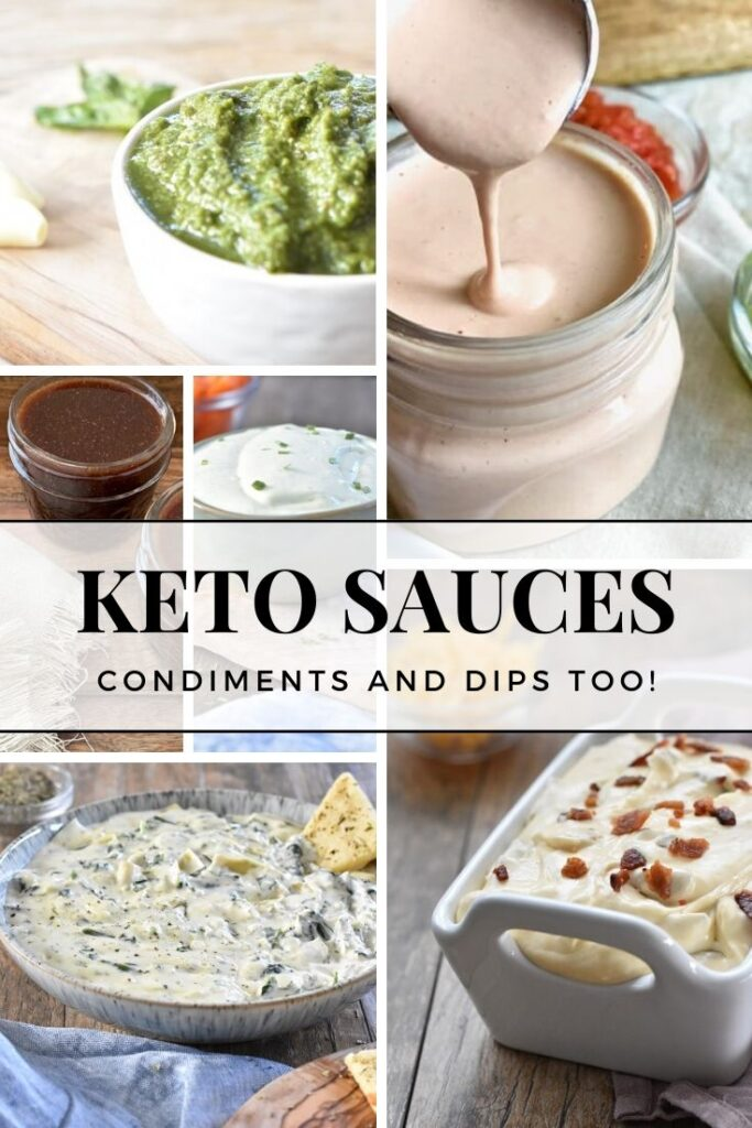 Keto Sauces, Condiments and Dips (2)