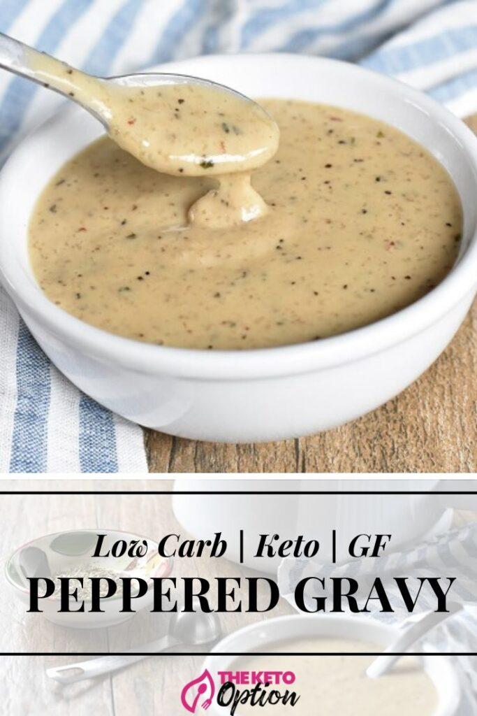 Peppered Keto Gravy