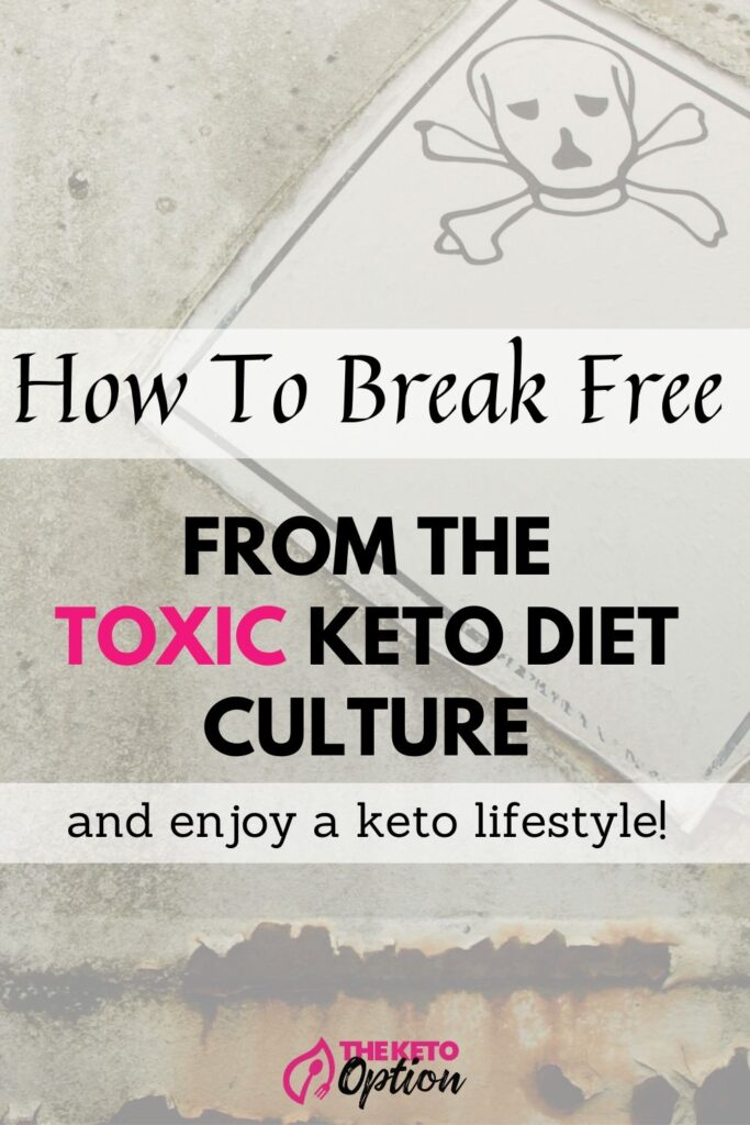 How to break free from the toxic keto diet culture tn