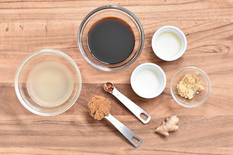 Keto Kung Pao Sauce Ingredients