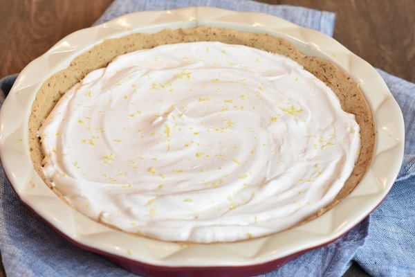 Gluten Free Lemon Cream Pie