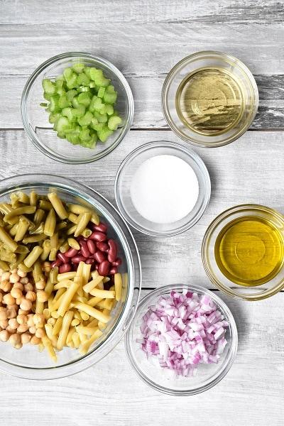 4 Bean Salad Ingredients