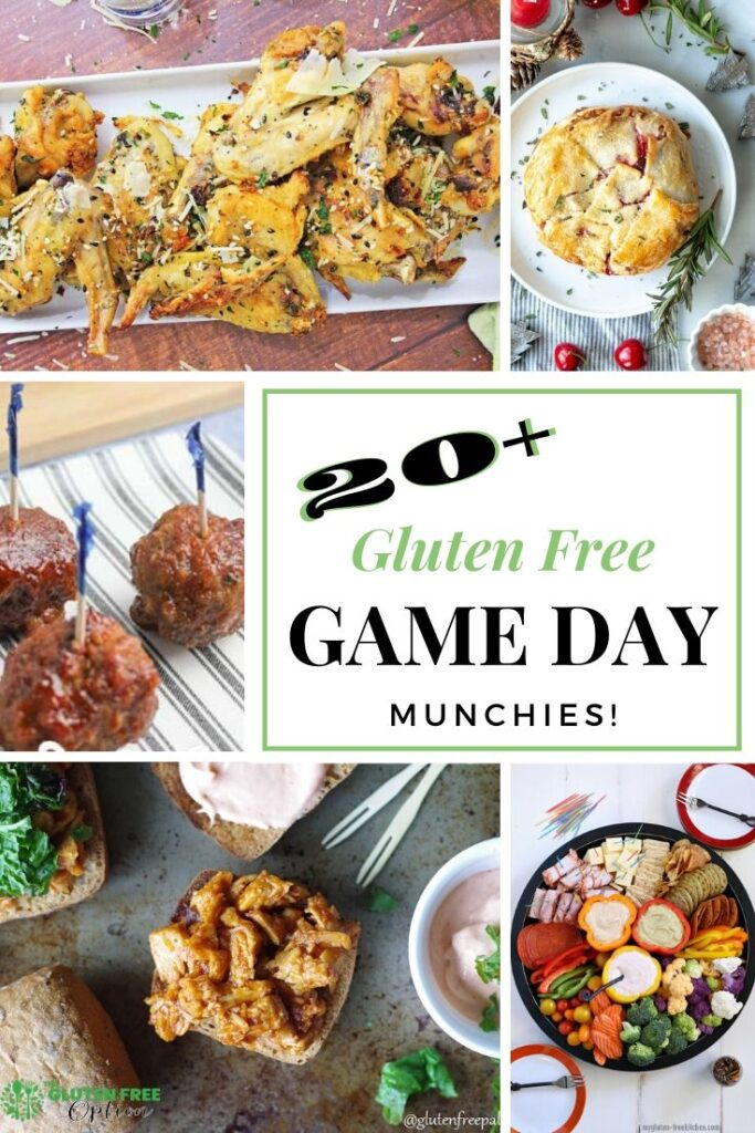 Gluten Free Game Day Recipes