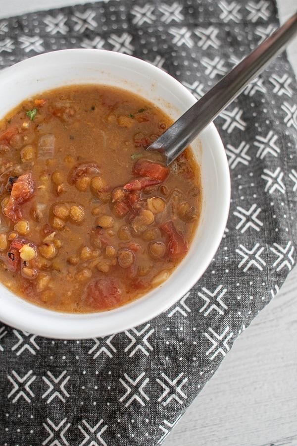 Gluten Free Lentil Soup