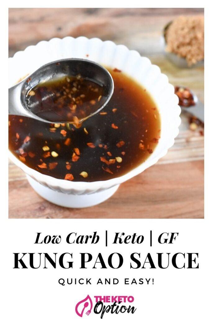 Kung Pao Sauce (Keto , Low Carb, GF)