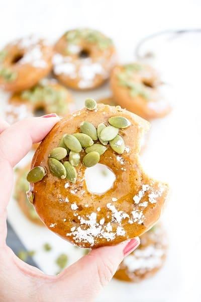 Gluten Free Pumpkin Spice Donuts