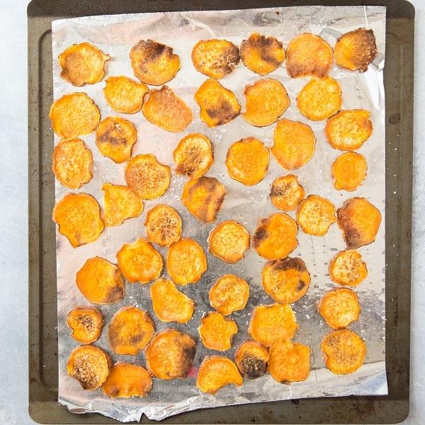 Baked Sweet Potato Chips (Paleo)