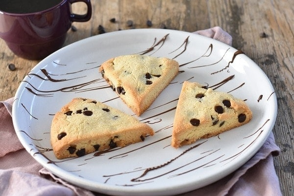 Chocolate Chip Gluten Free Scones