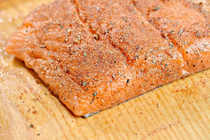 Air Fryer Keto Blackened Salmon