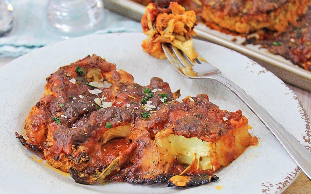Gluten Free Cauliflower Parmesan