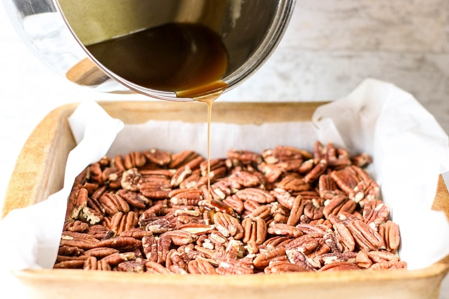 Keto Pecan Pie Bars Ingredients