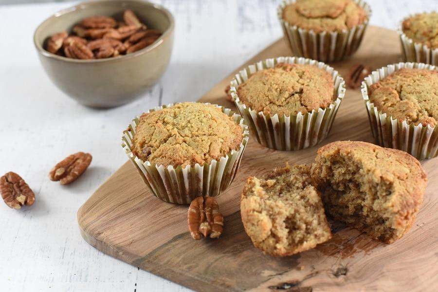 Paleo Maple Pecan Muffins