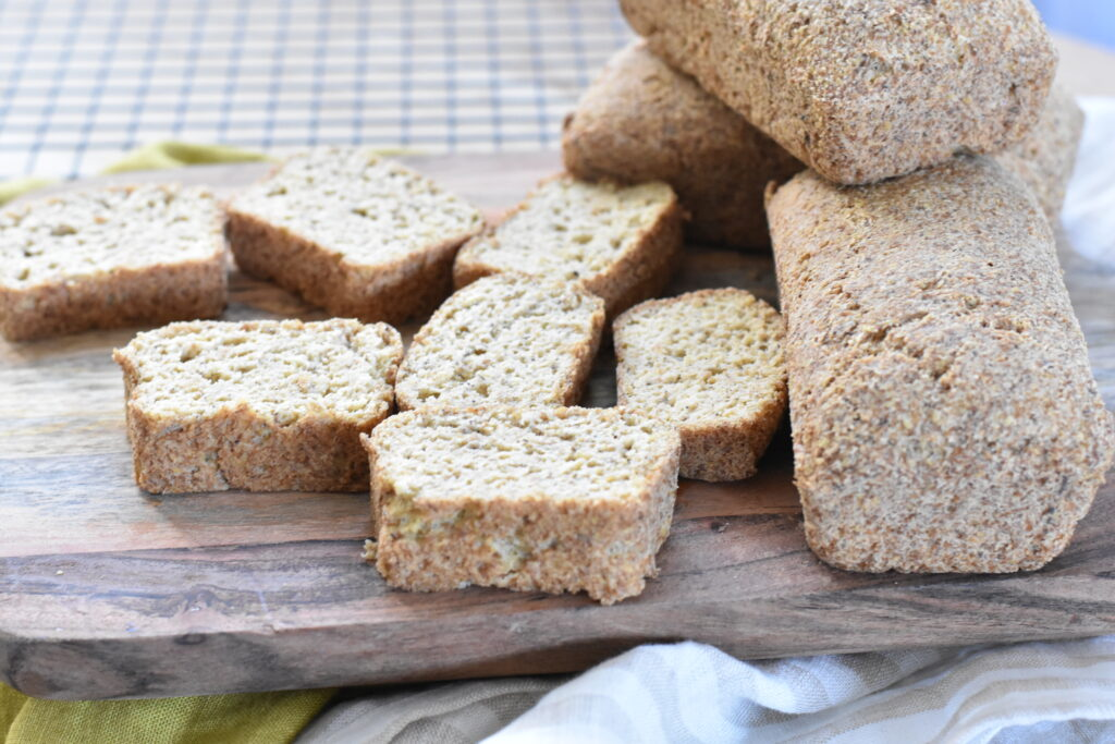 Keto mini bread loaves