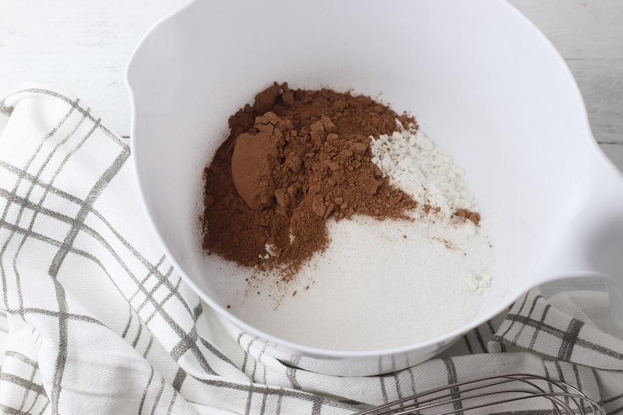 Gluten Free Mint Chocolate Donuts Ingredients