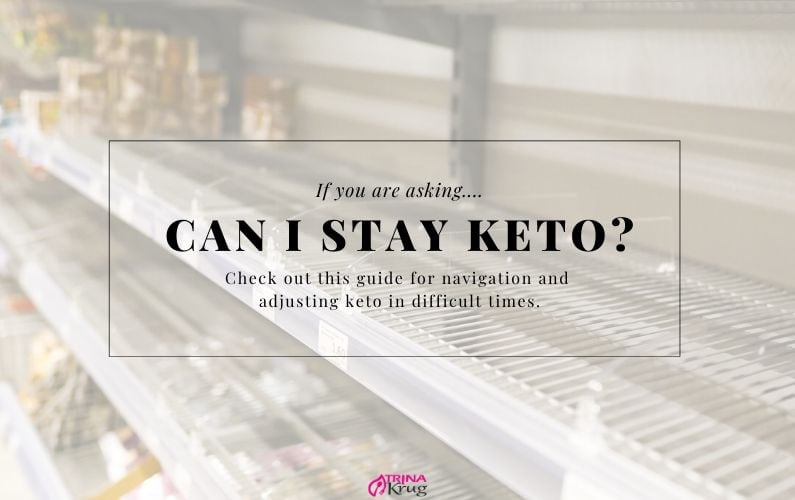 Should I Stay Keto in Difficult Times