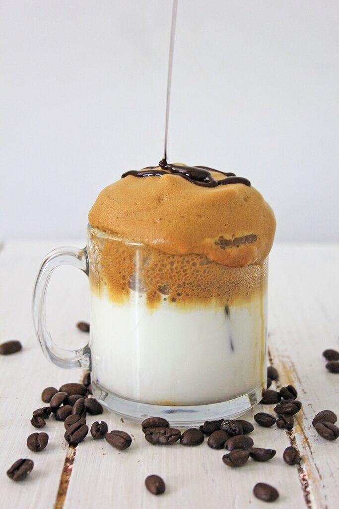 Keto Dalgona Coffee