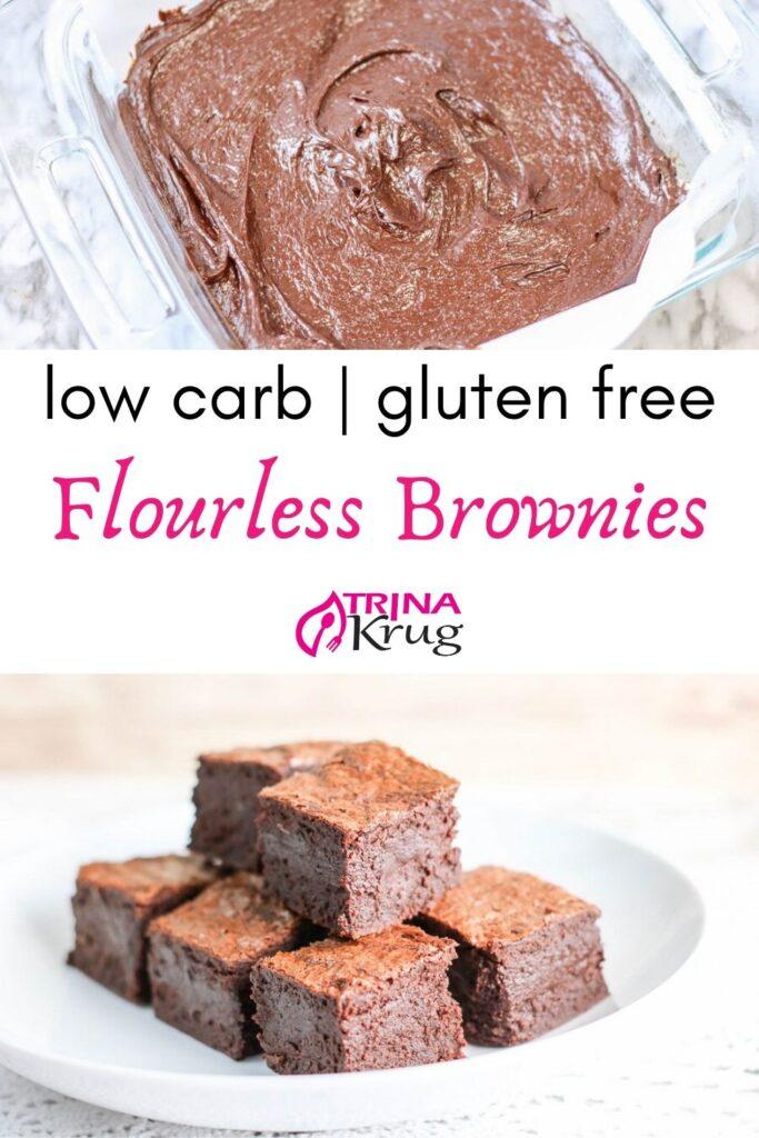 Low Carb Flourless Brownies